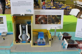 Duane Arnold Lego replica