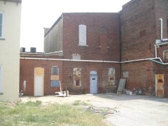 Back of Old Furniture Store Building
