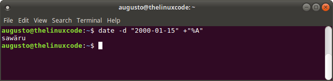 How To Use DATE Command in Linux – TheLinuxCode