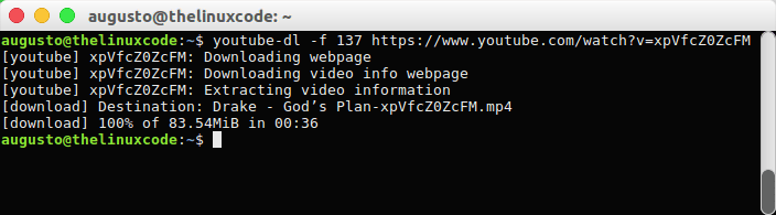How To Install & Use YouTube-DL on Ubuntu 17 04 & 18 04