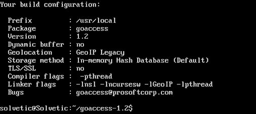 How To Install Goaccess To Analyze Apache Linux Log