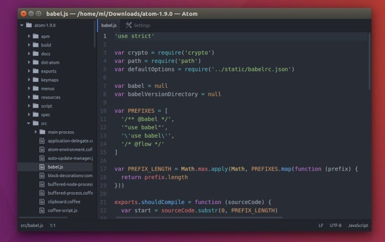atom html editor