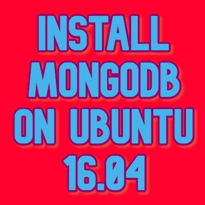 install mongodb on ubuntu 16.04