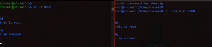 nc command in linux
