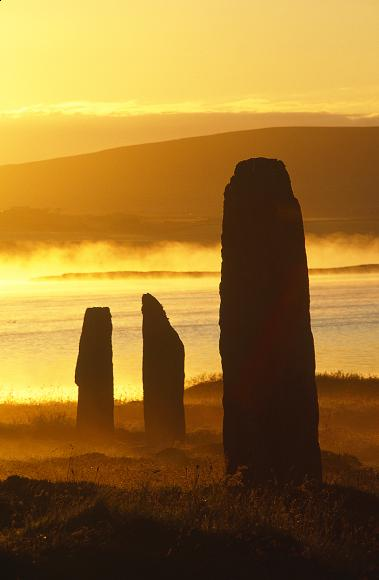 Sunrise in the Orkney Islands
