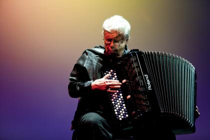 American composer and accordionist Pauline Oliveros