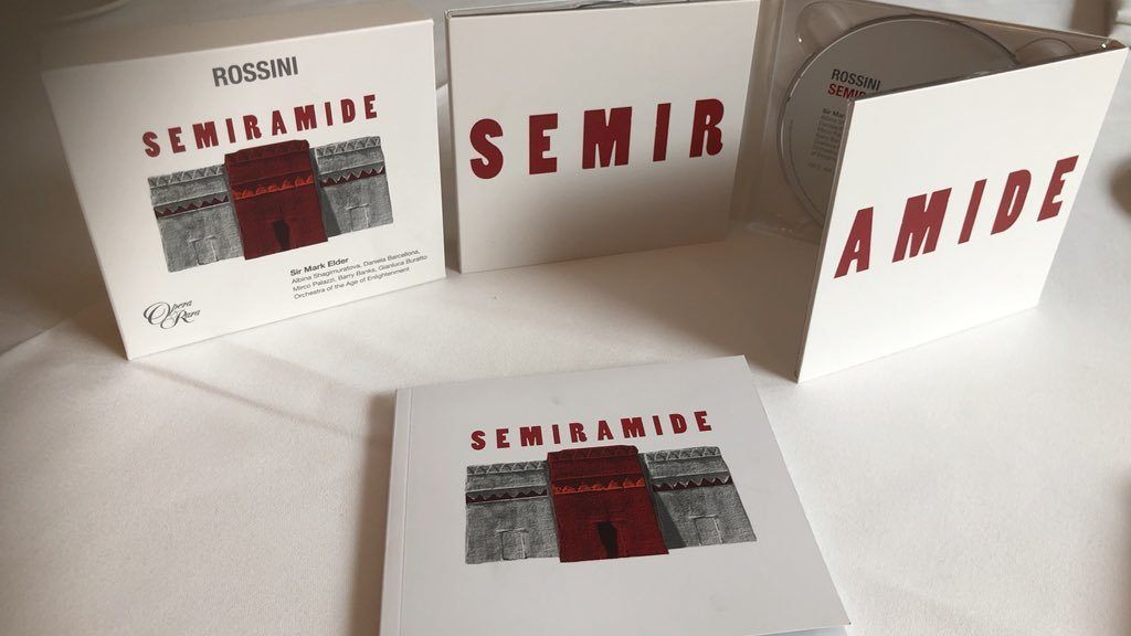 "New Release: Rossini's ""Semiramide,"" Sir Mark Elder and Opera Rara"