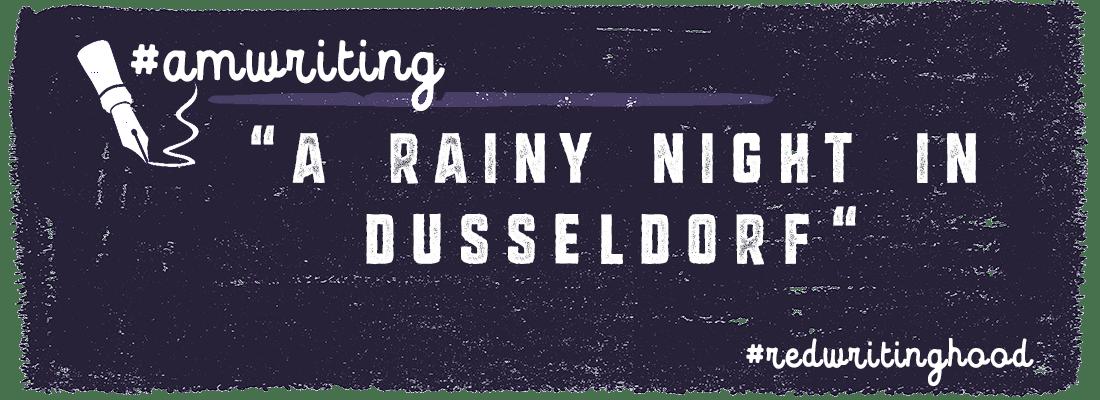 Prompt:  A Rainy Night in Dusseldorf