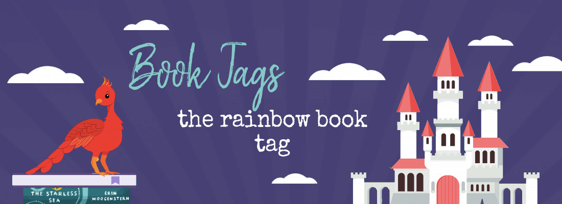 Rainbow Book Tag