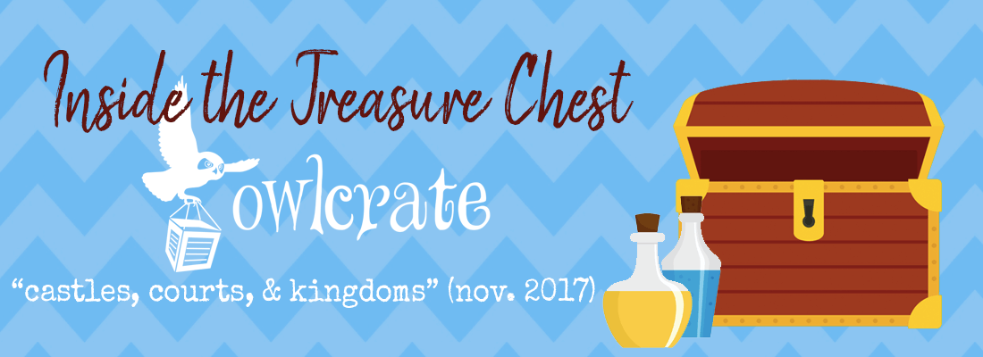 November OwlCrate Unboxing // CASTLES, COURTS, & KINGDOMS