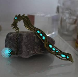 Glow-In-The-Dark Dragon Bookmark