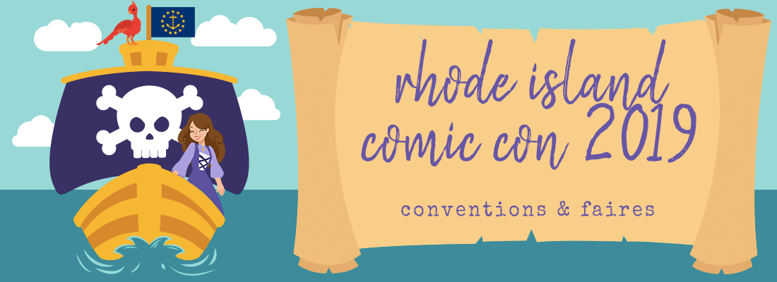 Adventures at Rhode Island Comic Con 2019