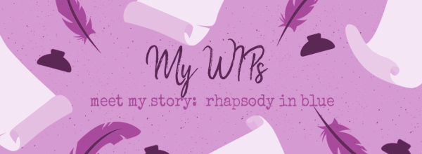 WIP Introductions:  Rhapsody in Blue