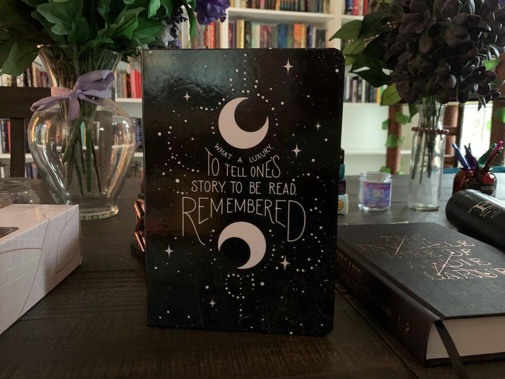 Owlcrate Addie LaRue Journal