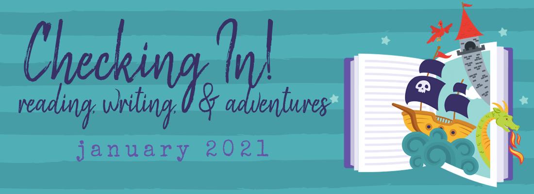 A Little Awareness, A Little Appreciation, & A Lotta Book Stuff:  January 2021 Wrap Up!