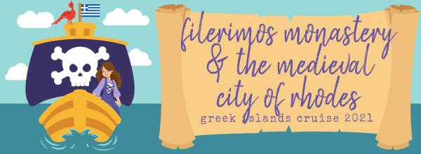 Filerimos Monastery & the Medieval City of Rhodes (Greek Islands Cruise 2021)