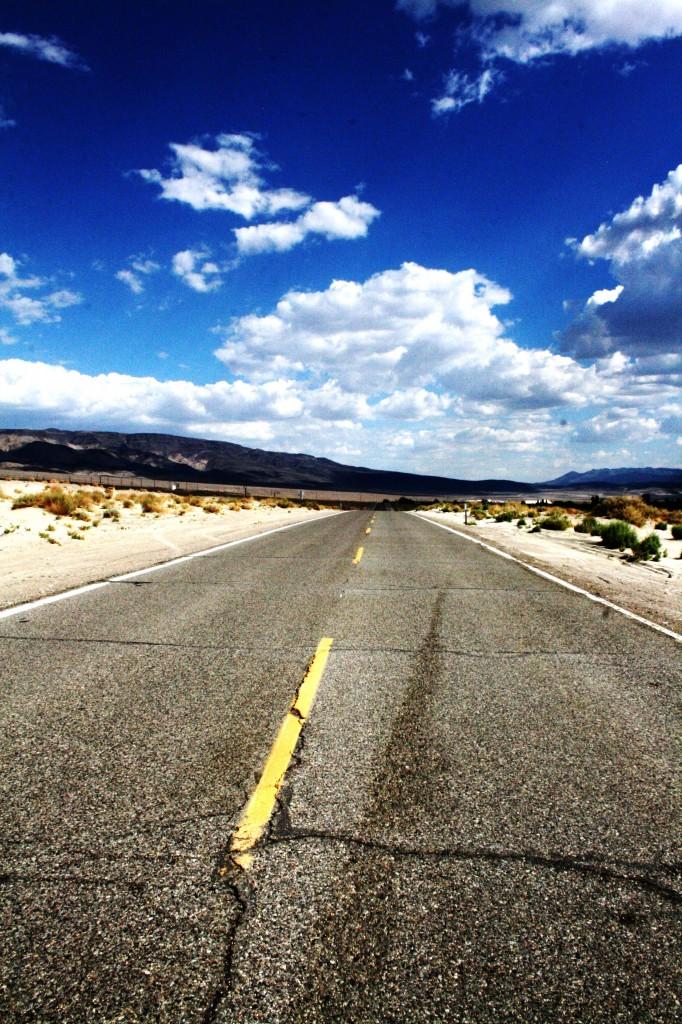 Cliche Shot Of An American Roadtrip