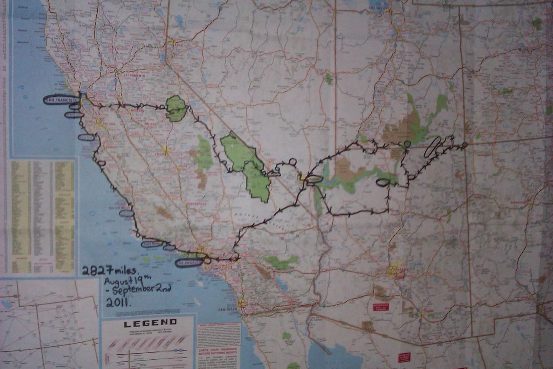 Roadtrippin' The West Coast of America