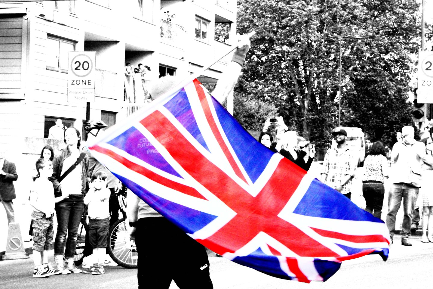 Olympic Torch Relay In Photo's