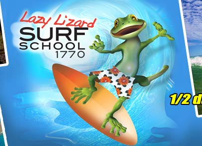Finally Learning To Surf – With Lazy Lizard