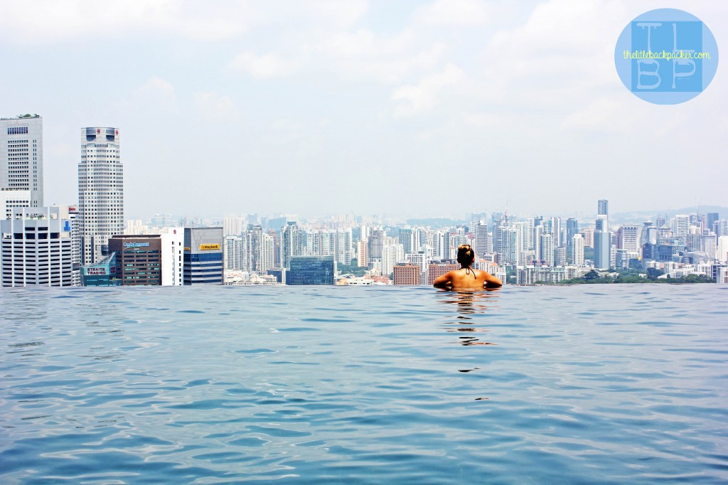 20 trips to take in your 20s - Marina Bay Sands Infinity Pool