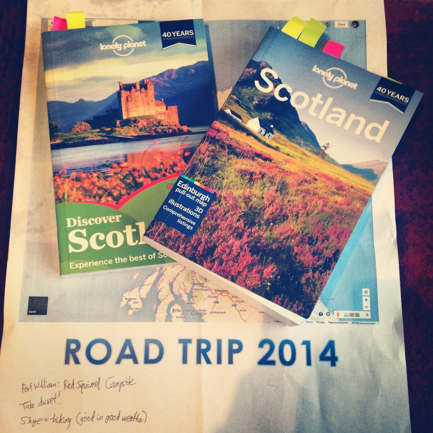 Planning A Roadtrip Around Scotland And I Need Your Help!