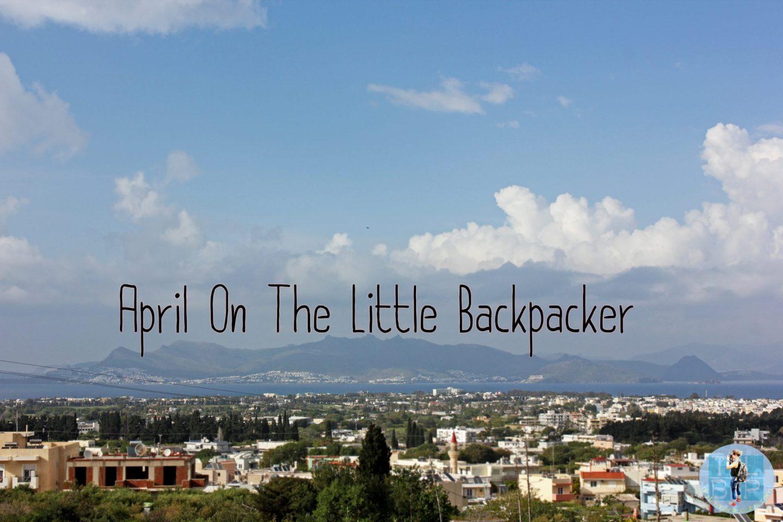 April On The Little Backpacker