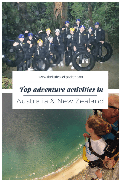 Top adventure activities in Australia and New Zealand