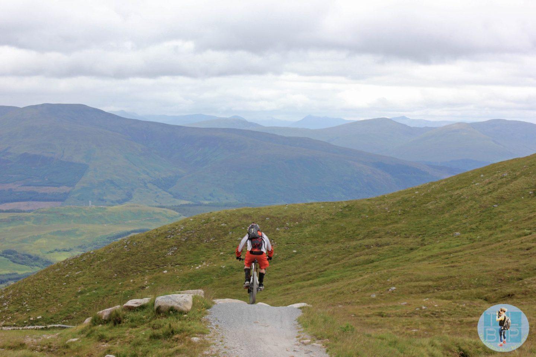 Exploring the Nevis Range Downhill Track