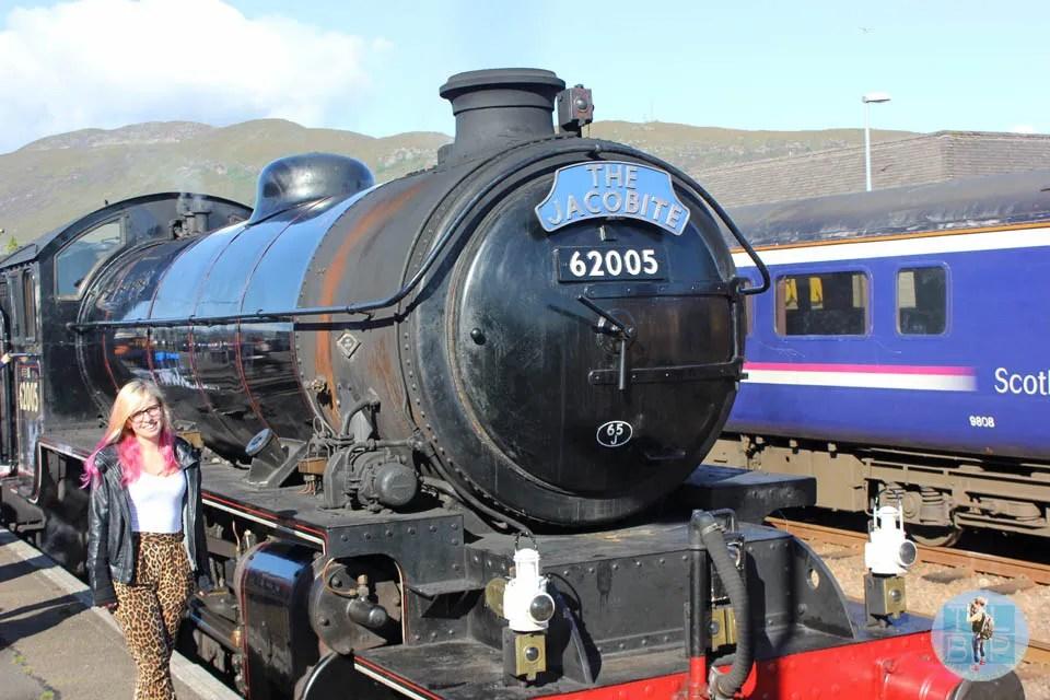 Jacobite Train Journey