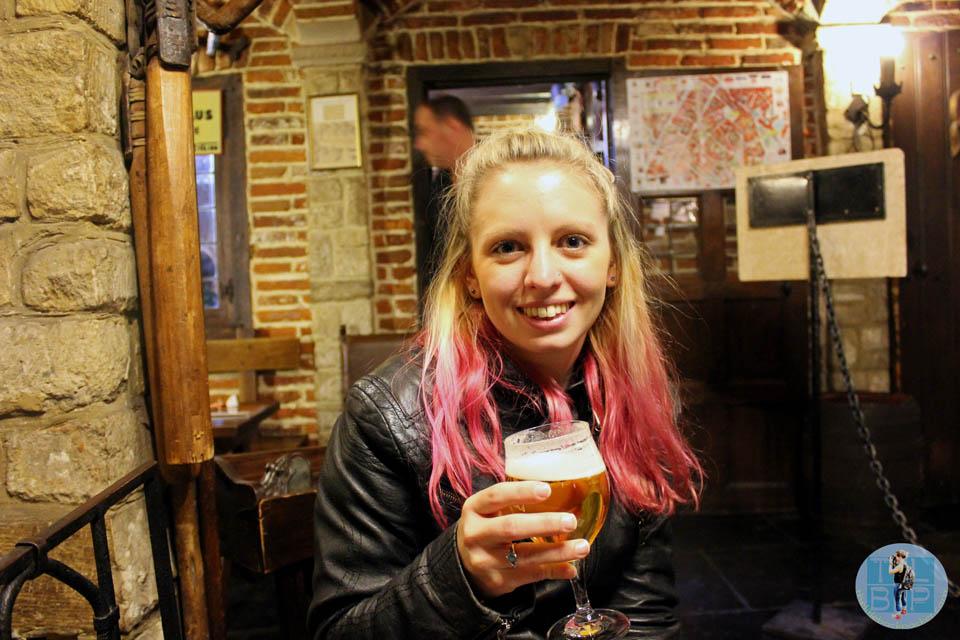 Beer Drinking in Brussels