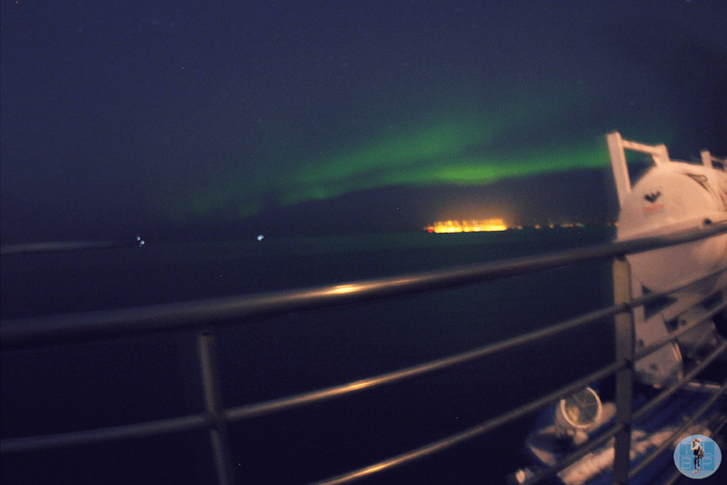 Seeing the Northern Lights by Boat in Iceland