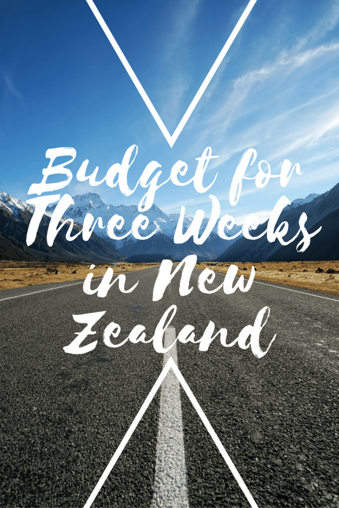 budget for three weeks in new zealand
