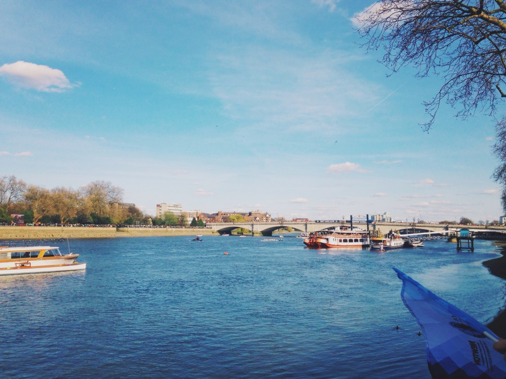 Boat Race from Putney