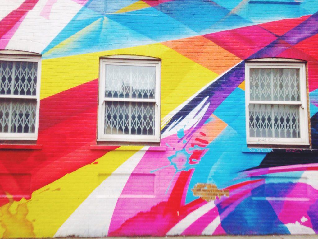 Street art I found in Shoreditch