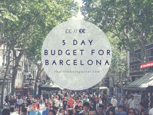 Barceona Budget