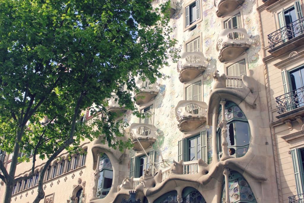 Gaudí in Barcelona - Casa Batllo