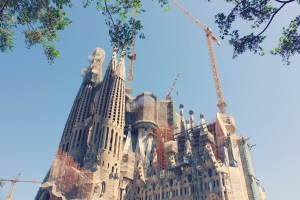gaudi in Barcelona - sagrada familia