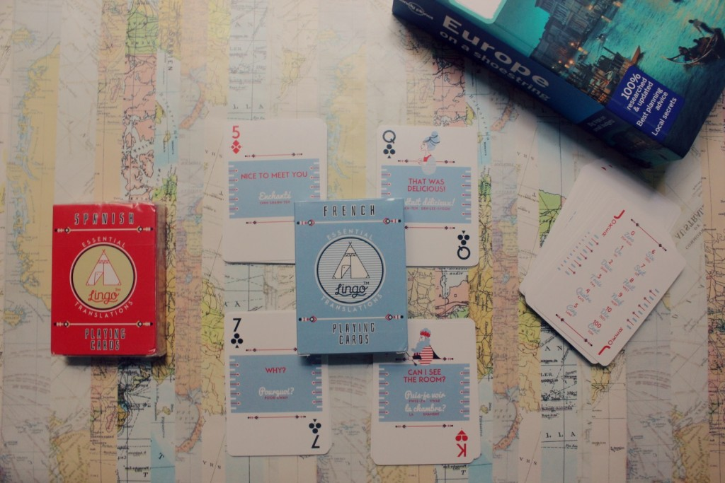 Card by Lingo Travel - I will be running a giveaway for these next week.