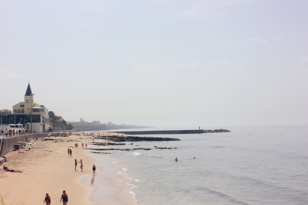 Photo Diary of Portugal - estoril beach
