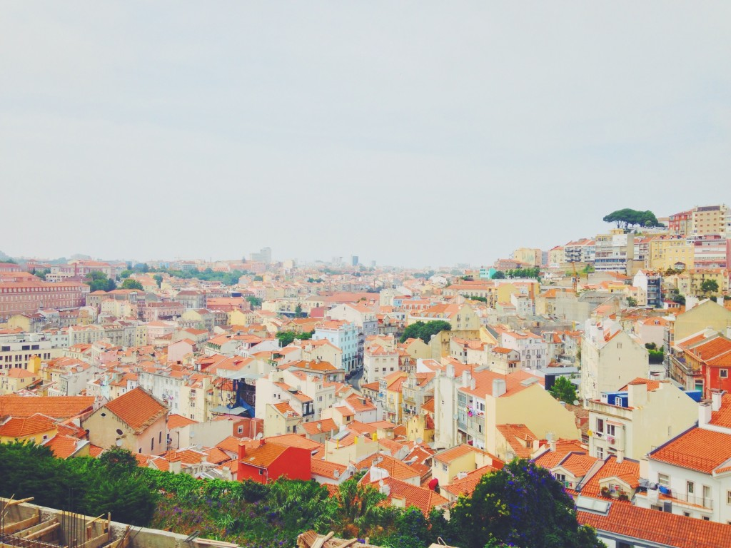 Lisbon rooftops - budget for a weeks holiday in portugal