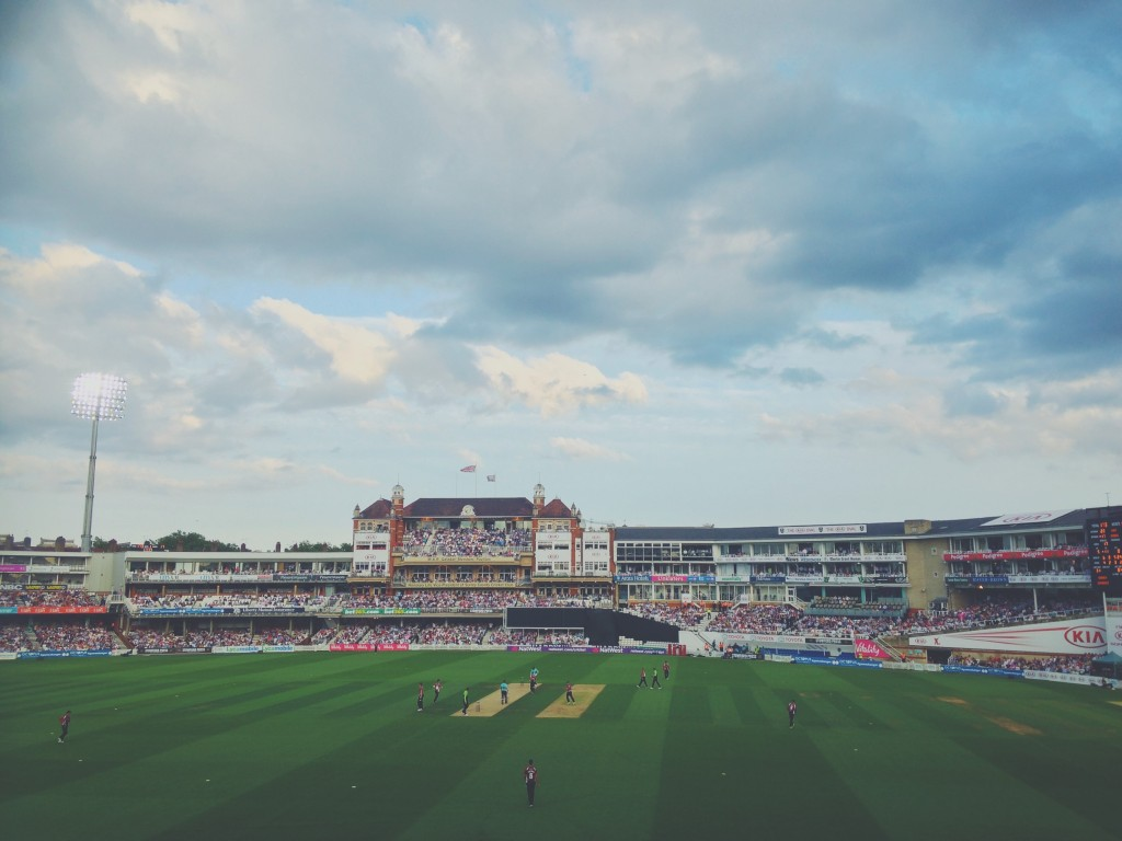 T20 Cricket at the Oval