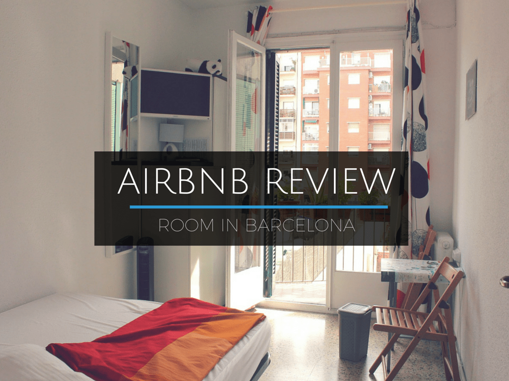 Review: Airbnb Barcelona A Sunny Room in Eixample