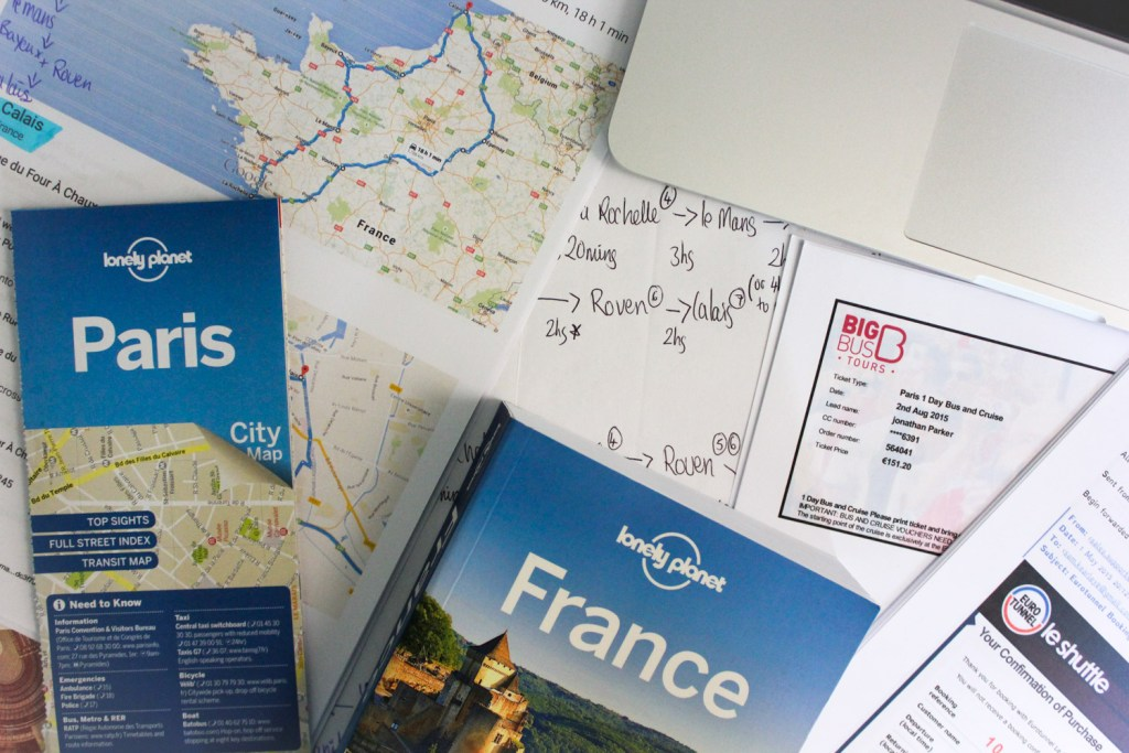 how to plan an awesome Road trip planning for France