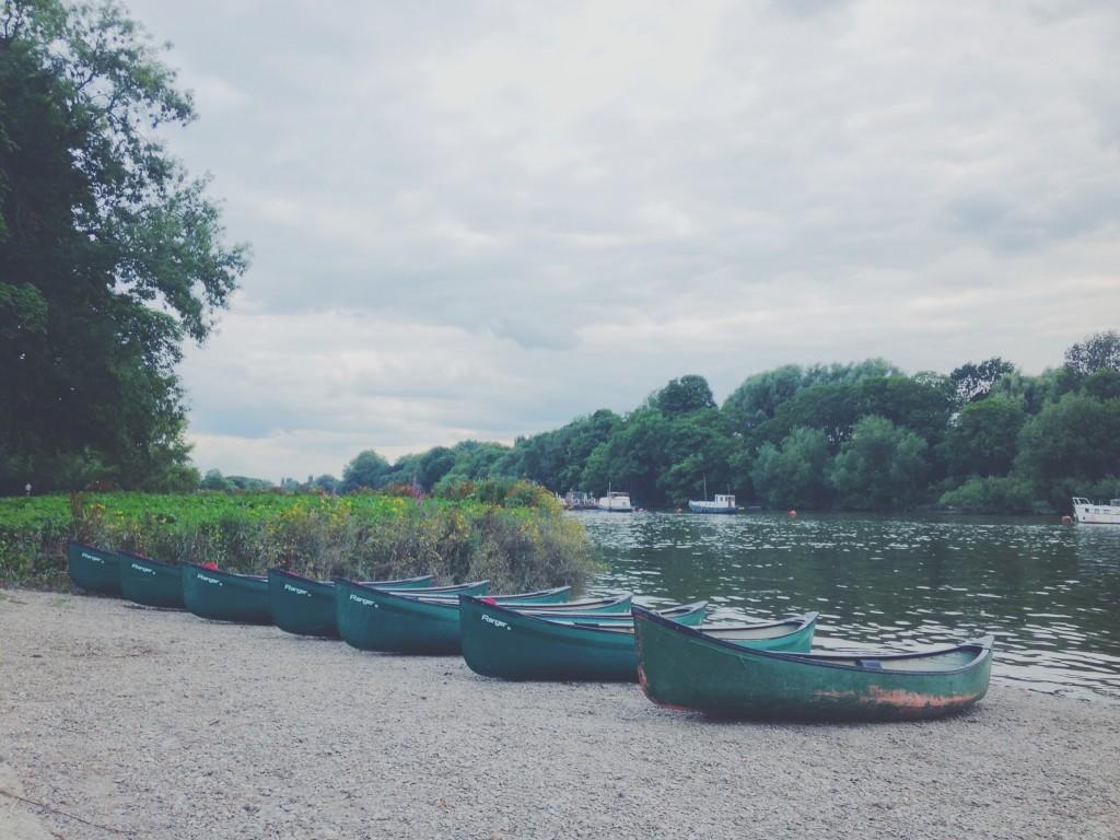 canoeing with secret adventures