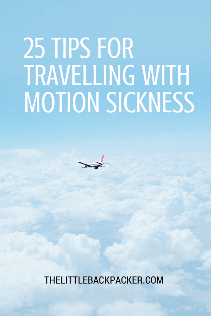 25 ways of dealing with motion sickness while travelling