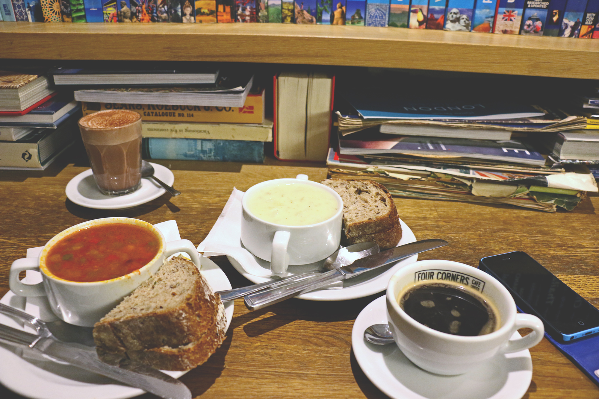 Four Corners London Cafe