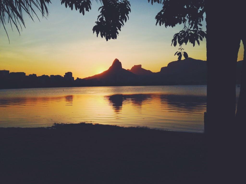 rio de janeiro - lagoa sunset
