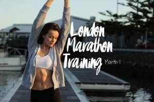 London Marathon Training Month 1
