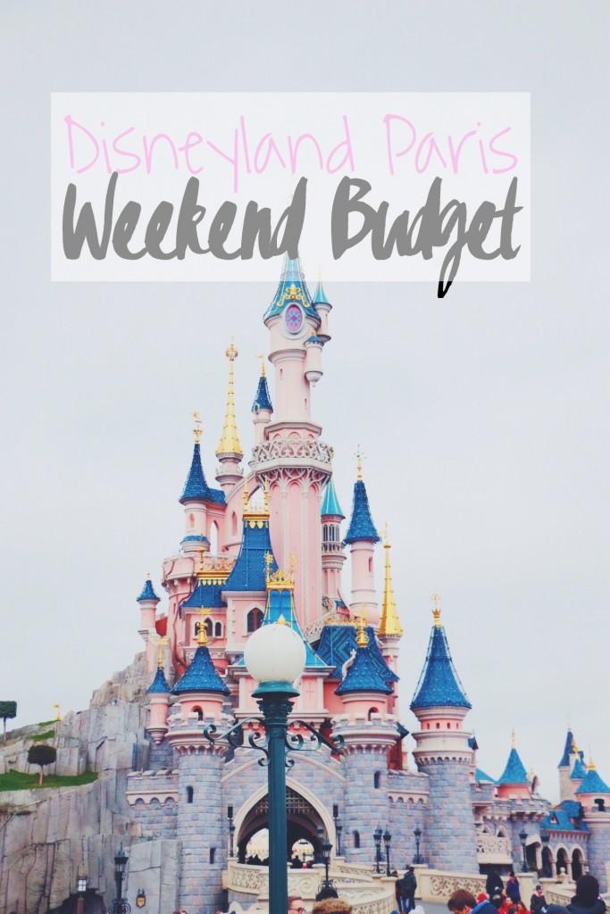 Weekend Budget for Disneyland Paris